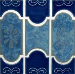 caribbean blue pool tile